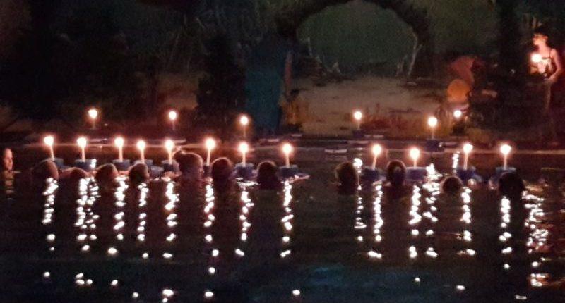 Kerzenschwimmen