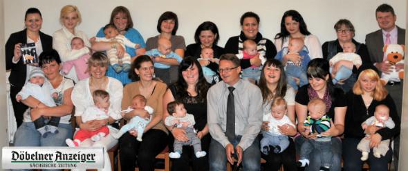 Begrüßungsgeld für neugeborene in Rosswein