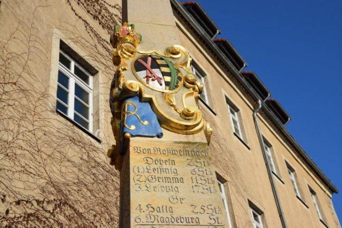 Postmeilensaeule Roßwein