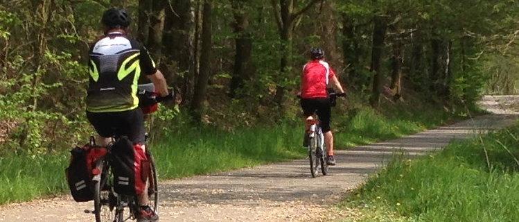 Radwandern im Tal der Freiberger Mulde - Rosswein