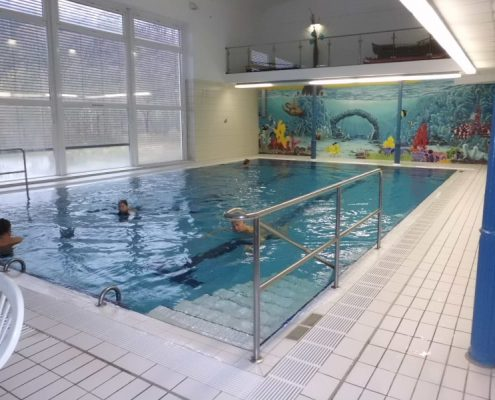 Hallenbad Schwimmbereich