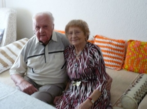 70. Hochzeitstag der Familie Günther