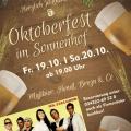 Einladung zum Oktoberfest in den Sonnenhof Ossig