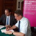 Glasfaser-Ausbau: Mehr Tempo für Roßwein
