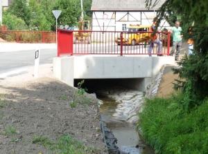 Gleisberger Brückenbau beendet