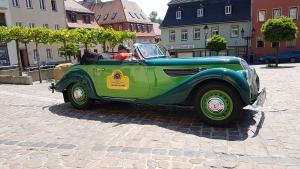 Oldtimer-Rallye stoppt in Rosswein 3