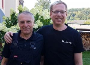 Peter Berg übergibt Staffelstab an Sohn Michael