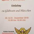 Köhler Keramik lädt ein