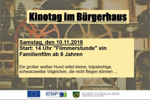 Kinotag im Bürgerhaus Roßwein