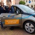 Stadtverwaltung tauscht Benziner gegen Elektroauto