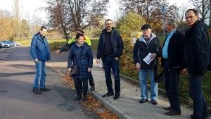 Straßenbesichtigung durch den Technischen Ausschuss, Umwelt, Kultur und Soziales (TAKS)