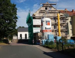 Bestattungshaus mit neuem Domizil