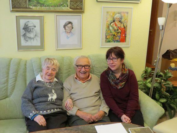 Roßweiner Bürgermeister gratuliert Heinz Kürbis zum 101. Geburtstag